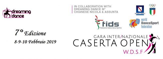 CASERTA OPEN  8-9-10 Febbraio 2019