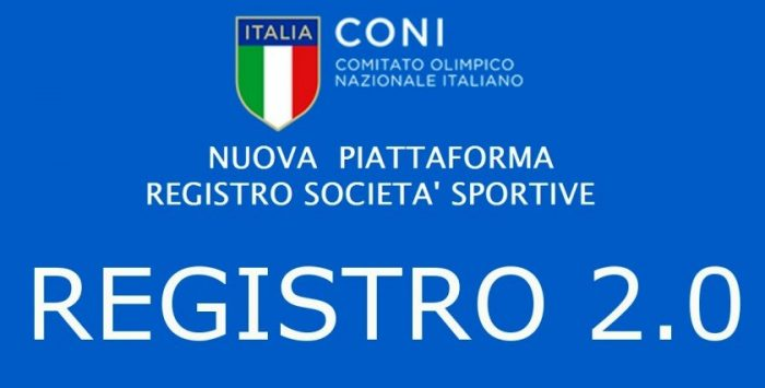 REGISTRO CONI 2.0 PER SOCIETA' AFFILIATE