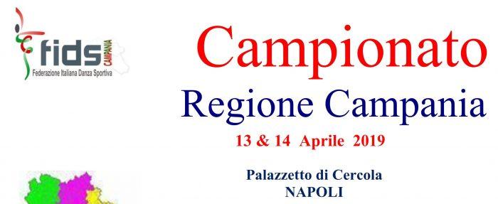 Campionato Regionale Danze Artistiche 13 e 14 Aprile