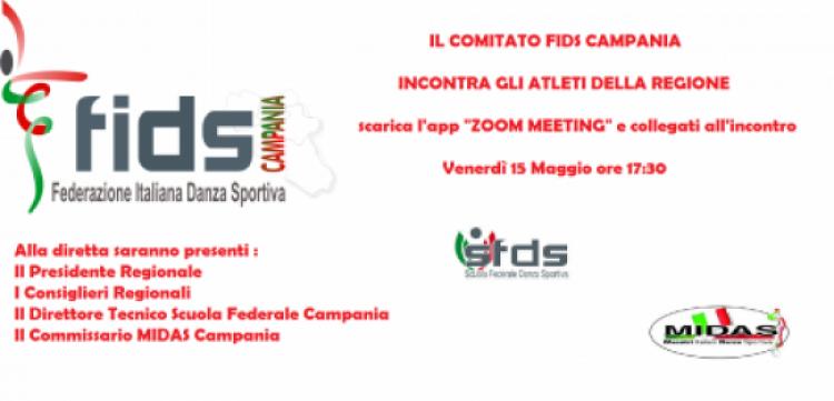 La FIDS Campania Incontra gli Atleti Venerdì 15 Maggio
