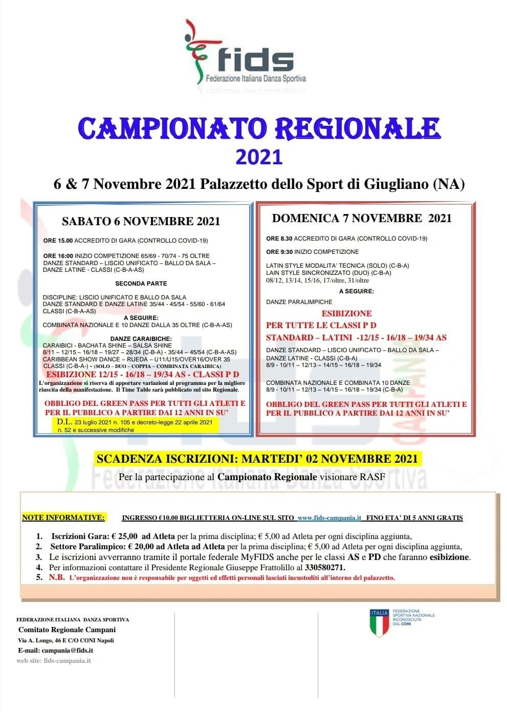 CAMPIONATO REGIONALE GIUGLIANO